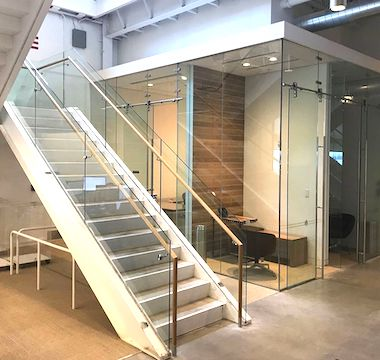 Glass Stairs Feature